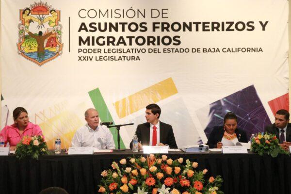 """Propone Diputado Roman Cota mesa de trabajo para resolver problemática en """"El Chaparral"""" y de Caravanas Migrantes"""