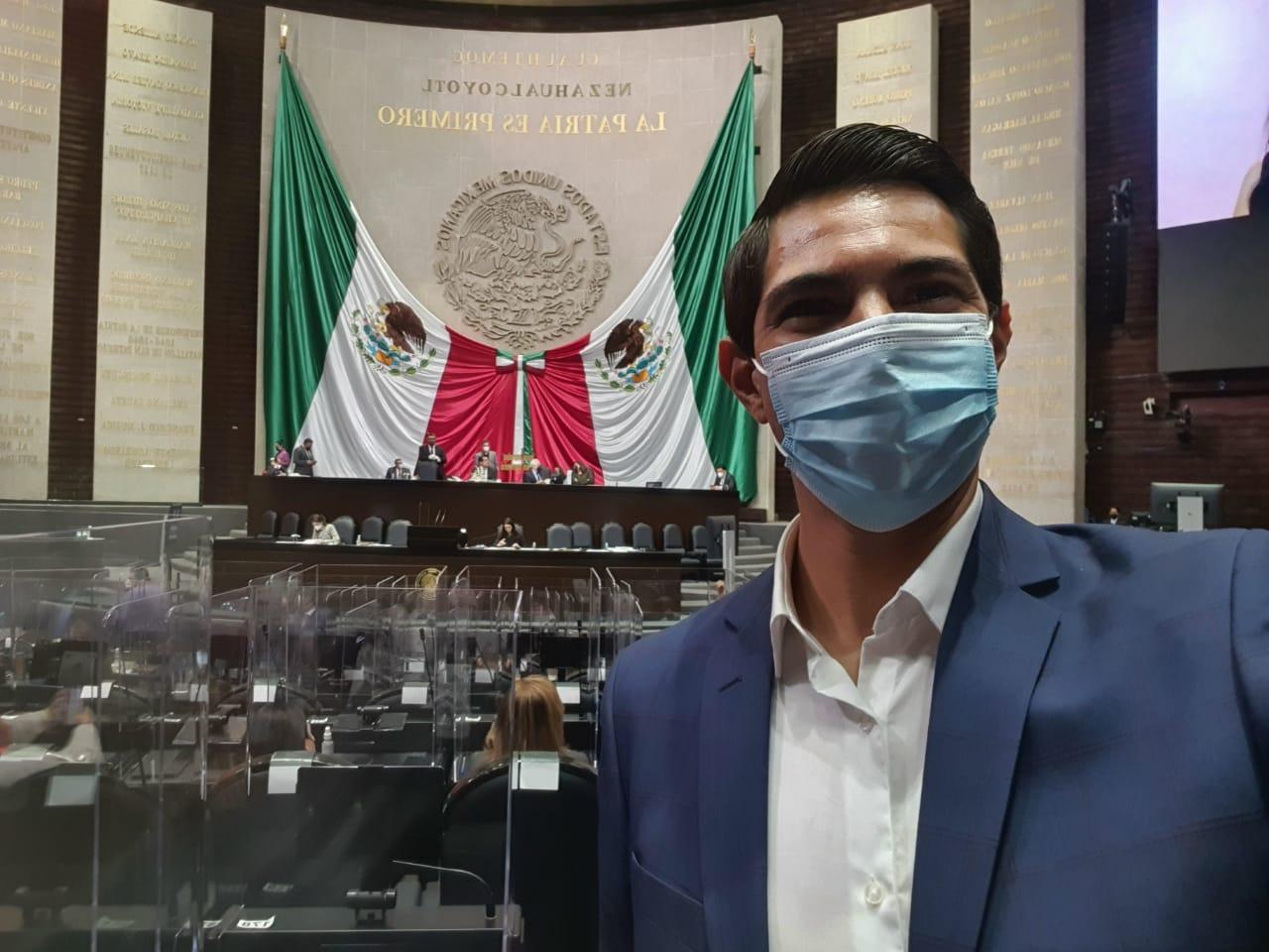 Gestiona Diputado Román Cota recursos para Hospital Metropolitano ante el Congreso de la Unión