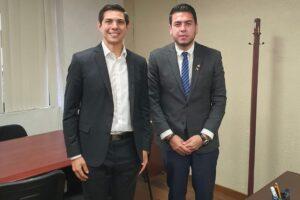 Concreta alianzas estratégicas con legisladores federales por Baja California el Diputado Local Román Cota Muñoz