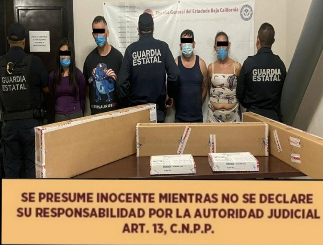 El Boca de Bagre líder del Cártel de Sinaloa fue detenido junto con 5 cómplices