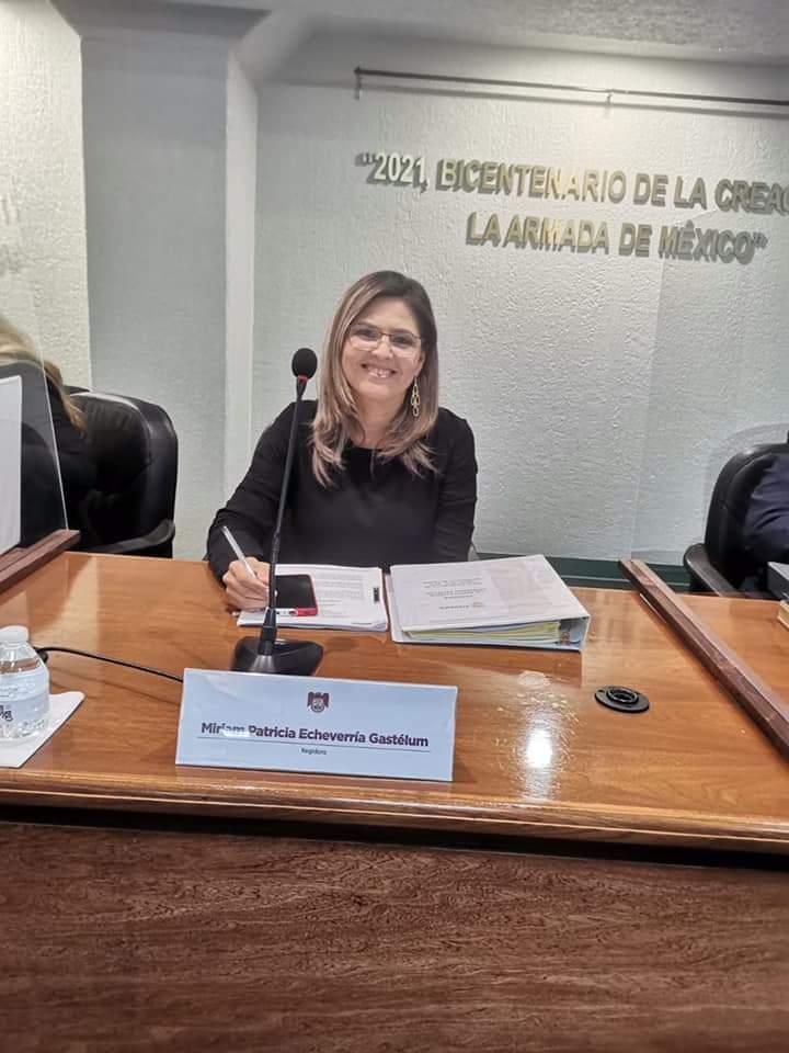 Servir con responsabilidad y sentido social, los principios de la regidora Miriam Echeverría