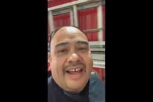 Capitán de bomberos acusa al subdirector de quererlo golpear