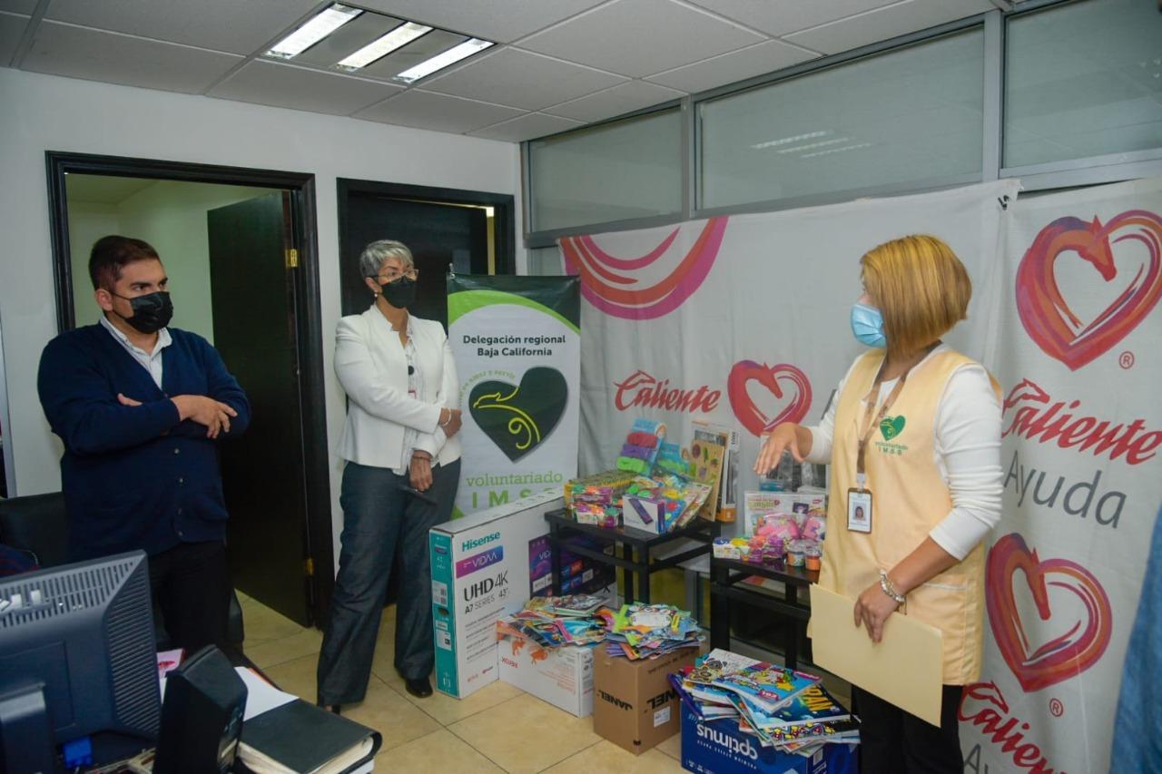 Realiza Corporativo Caliente donativo al Hospital General Regional 1 del IMSS