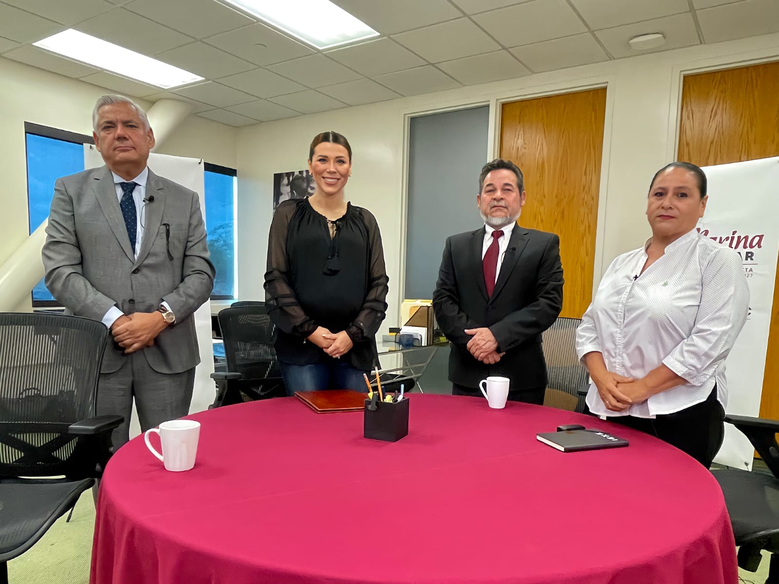 Anuncia Marina del Pilar nuevos nombramientos para su gabinete