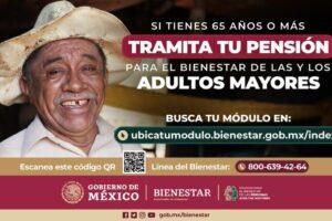 Gobierno de México lanza plataforma y línea telefónica para incorporación de adultos mayores de 65 y más al programa de pensiones