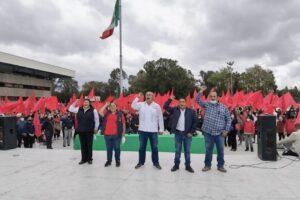 Antorcha instalara plantón permanente en última semana de gobierno de Jaime Bonilla