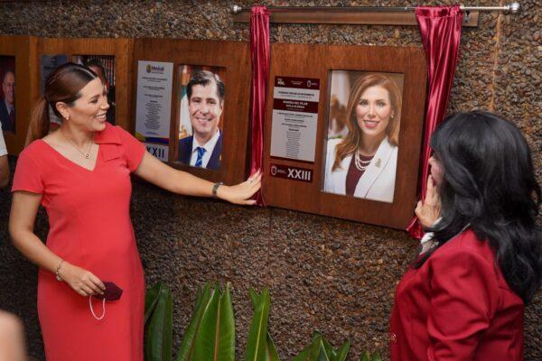 Marina del Pilar agradece homenaje del XXIV Ayuntamiento de Mexicali