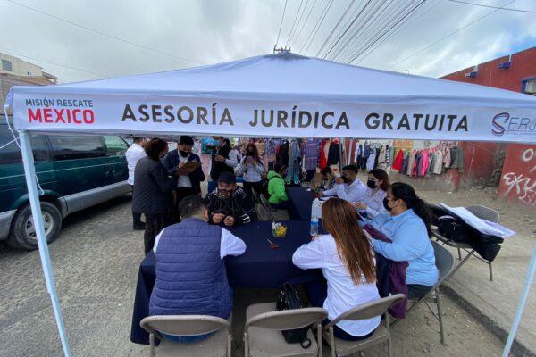 """Misión Rescate México y Serjus siguen haciendo """"política de la buena"""""""